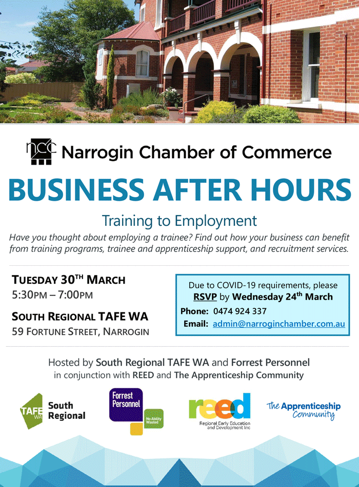 NCC Business After Hours 30 March 2021